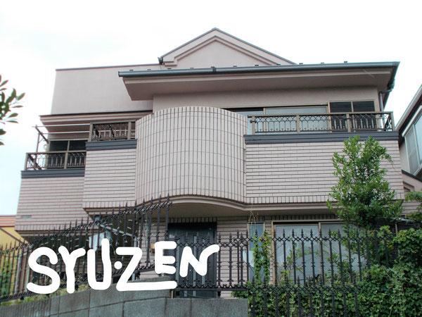 横浜市中区本牧緑が丘。K様邸。外壁塗装と屋根塗装