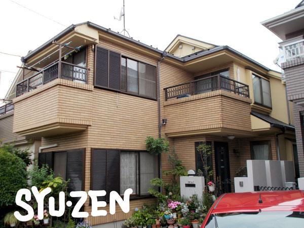 横浜市中区本牧緑が丘周辺の外壁塗装と屋根塗装。