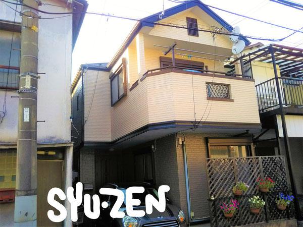 横浜市西区南浅間町周辺 外壁塗装 屋根塗装 目地交換