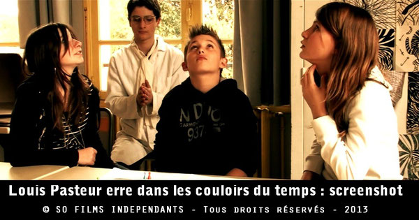 Louis Pasteur fait voyager des élèves dans le temps...