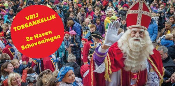Geen rijtoer door Den Haag, wel aankomst in Scheveningse haven voor Sinterklaas