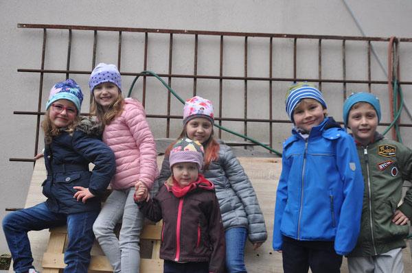 Kindermützen der Kollektion Anny