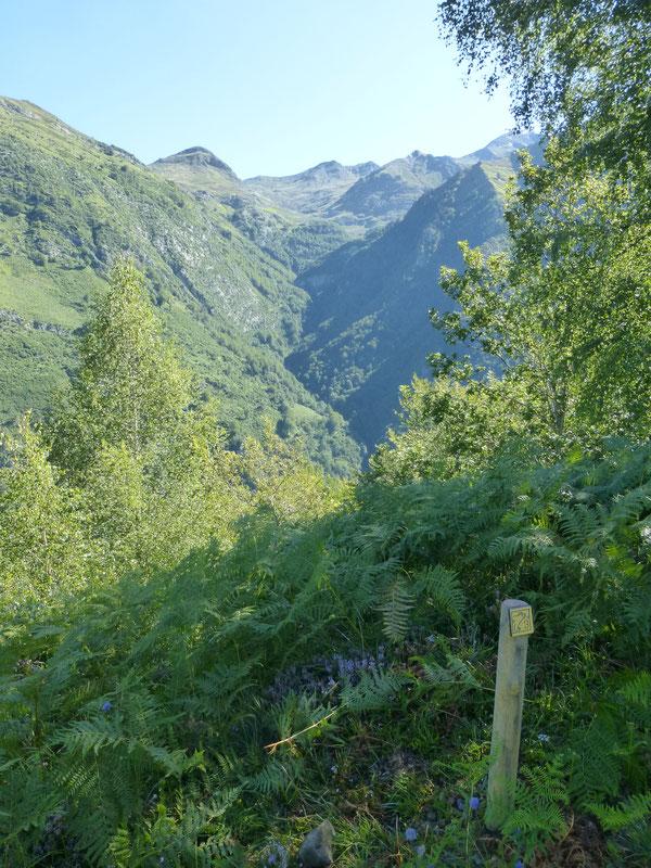 À la frontière entre les deux mondes de l'Homme et de l'Ours, la vue bascule sur le sauvage vallon de Yèse...