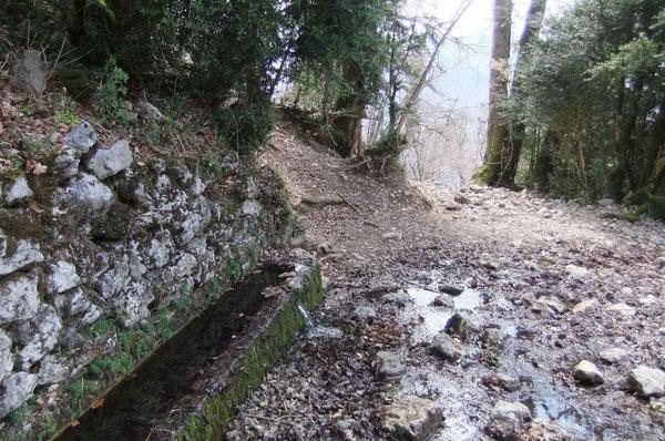 Tout en haut du circuit, la Fontaine de Laruns est nichée dans le buis sous l'Ourdinse.