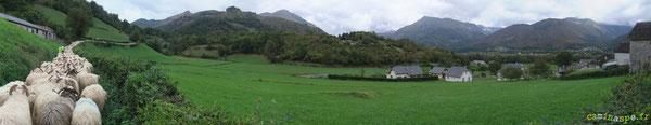 Grimpée par le Chemin de Trébesse et dernier regard sur le Vallon