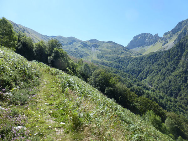 La Montagne du Horquèth est l'un de ces espaces sauvages que recèle la Vallée d'Aspe qui plaira aux montagnards habitués à s'orienter sans autres moyens que les éléments naturels...