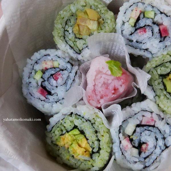 巻き寿司でハッピー♡バレンタインの巻