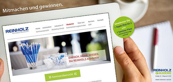 Die beiden Preise des REINHOLZ-Messegewinnspiels gingen in diesem Jahr nach Lübeck und Hamburg.
