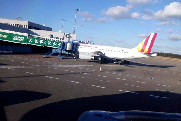 Abflug Köln-Bonn.