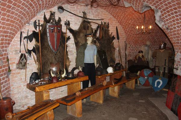 Innenraum des Forts,z.T.Museum und Gastronomie-und Souvenirbereich.