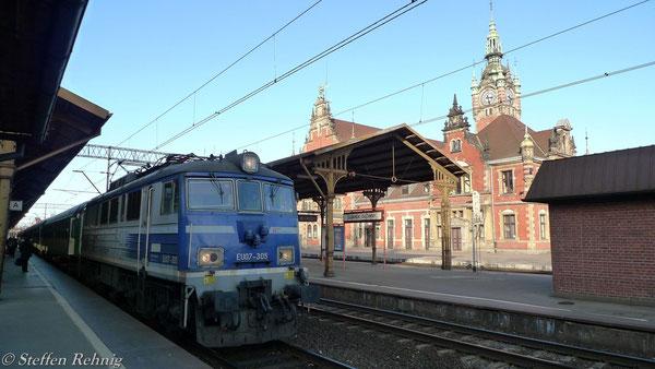 EU 07 - 305 in Gdańsk Główny (12. März 2012)