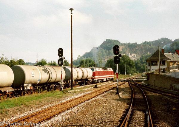 .... mit Kesselzug aus Richtung Mehltheuer ins Tanklager Lederhose ....