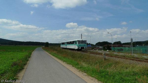 ..... und weiter in Richtung Reundorf - Frensdorf