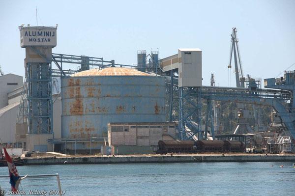 Hafen in Ploce