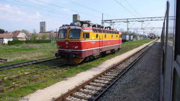 BR 1142 005-6 in Sid (Serbien)