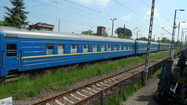 Endender Zugteil S 51/52 Kiew-Przemysl in Przemysl (Mai 2010)