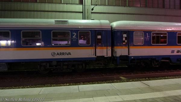 ALX 84118 München - Schwandorf, abgesperrter Zugteil (München, März 2011)