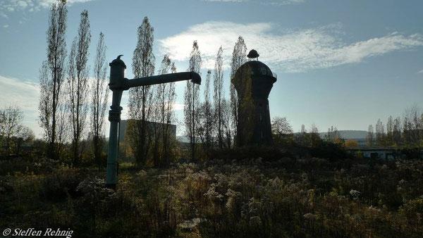 Wasserturm am Schuppen 2 (November 2010)