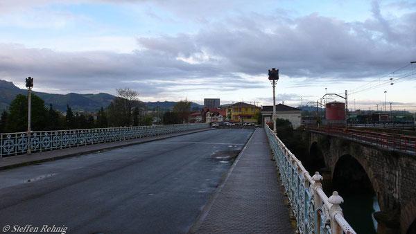 Grenzbrücke Hendaye - Irun