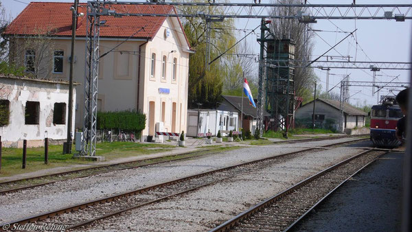 HZ - JZ Grenzbahnhof Tovarnik (April 2007)