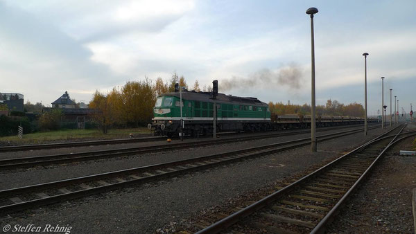 """Ausfahrt frei"" in Schmirchau (November 2010)"