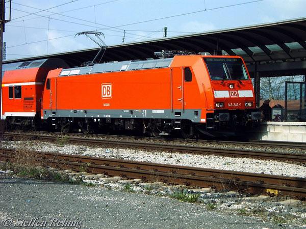 146 243-1 in Lichtenfels (23. Mai 2006)