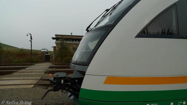 Morgentliche Ankunft in Schmirchau