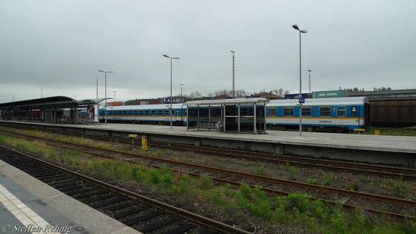 Alx 84121 in Hof Hbf (Mai 2010)