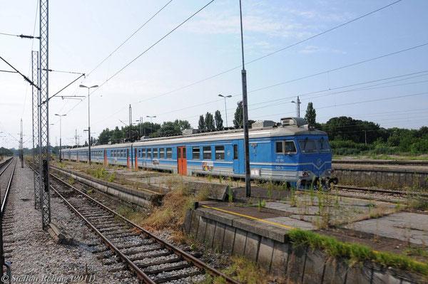 JZ-Vororttriebwagen russischer Bauart 412 091
