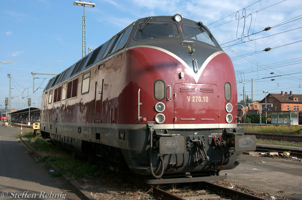 V 270.10 der SGL in Bamberg (10. September 2012)
