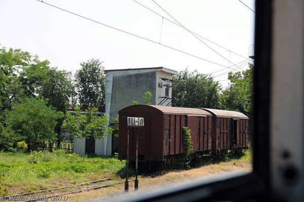 Altes Bahnhofsschild