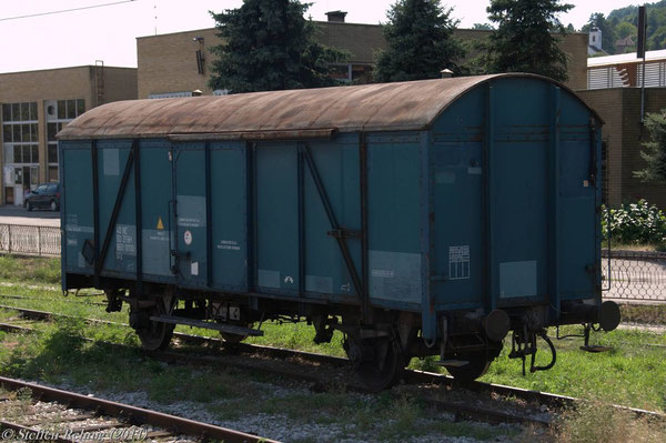 ex. DB Materialwagen 40 50 950 0000-7 (17. Juli 2011)