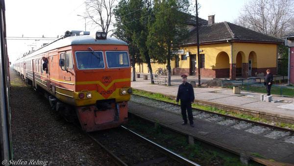 MZ Triebwagenzug sowjetischer Bauart in Bracevo