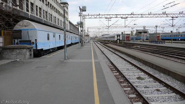 Y - Postwagen (Norm OSShD) in Zagreb