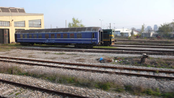 MZ Schlafwagen in Skopje