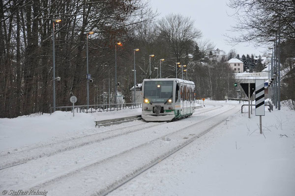 Haltepunkt Jocketa (Januar 2011)
