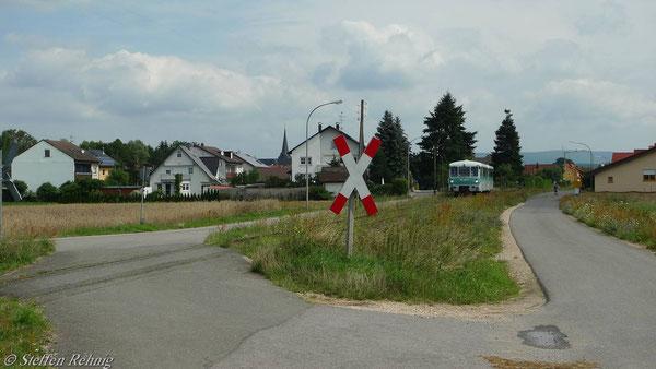 Ortsausfahrt Pettstadt .....