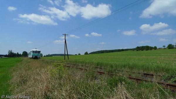 ..... Richtung Neumühle....Simmersdorf....