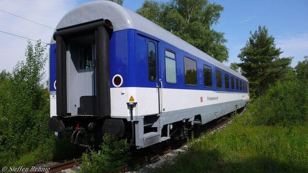 Ausstellungswagen der DB-Fahrzeuginstandhaltung in Nürnberg (1. Juni 2007)