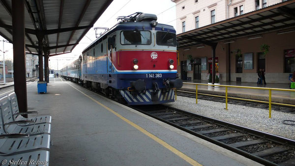 BR 1141 in Zagreb