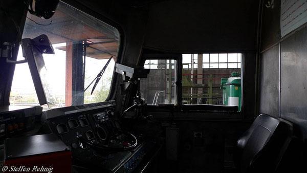 Führerstand BR 132