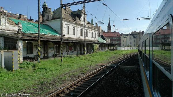 Stillgelegt: Bahnhof Praha - Vyšehrad