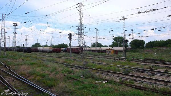 ..... der Rangierbahnhof von Russe ....