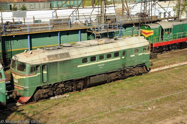M 62 1467 Schadhaft abgestellt im Depot Chop (30. September 2011)