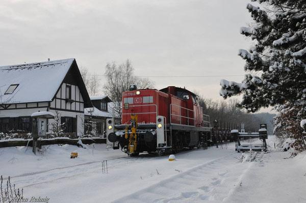 Bahnhof Frensdorf (28. Dezember 2010)