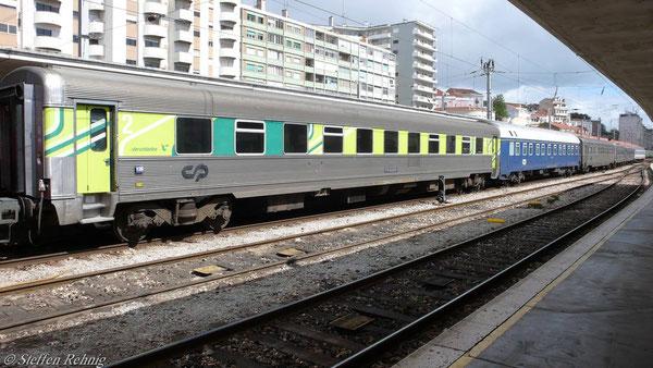 INOX Verstärkungssitzwagen ab Vilar Formosa bis Lissabon