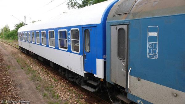 """Bc 51 54 59-80 186-3 am D 460 """"TRANSBALKAN"""" von Thessaloniki nach Praha"""