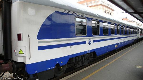Schlafwagen nach München in Zagreb