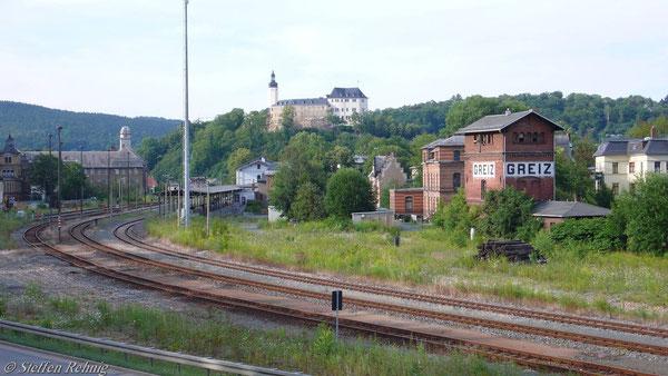 Der Traurige Rest vom Bahnhof Greiz (Juli 2007)