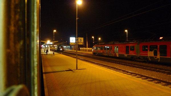 Grenzbahnhof Koprivnica (März 2011)